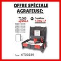 Offre sp�ciale Agrafeuse 12/16 P2 + 70 000 agrafes A