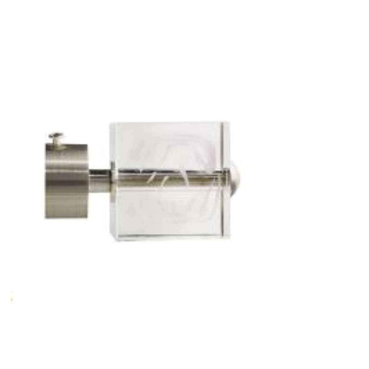 298-Embout Cube nickel mat/translucide