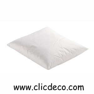coussin ouate blanc 60 x 60 achat coussins et oreillers. Black Bedroom Furniture Sets. Home Design Ideas