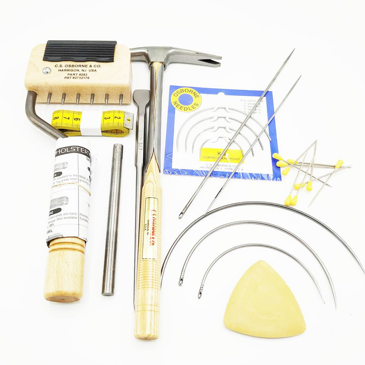Kit outils tapissiers : Garnissage Traditionnel