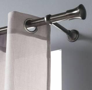 tringles laiton vieilli et etain vieilli 20 mm tringle a rideaux classique laiton. Black Bedroom Furniture Sets. Home Design Ideas
