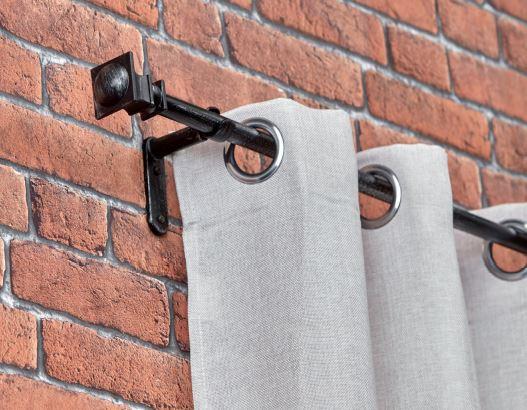 fer forg arabesque 19 mm tringle a rideaux fer forge. Black Bedroom Furniture Sets. Home Design Ideas